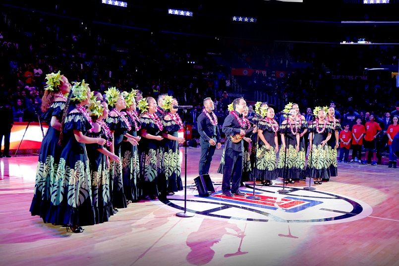 Hawaii Night at STAPLES Center celebrates L.A. Clippers return to Honolulu