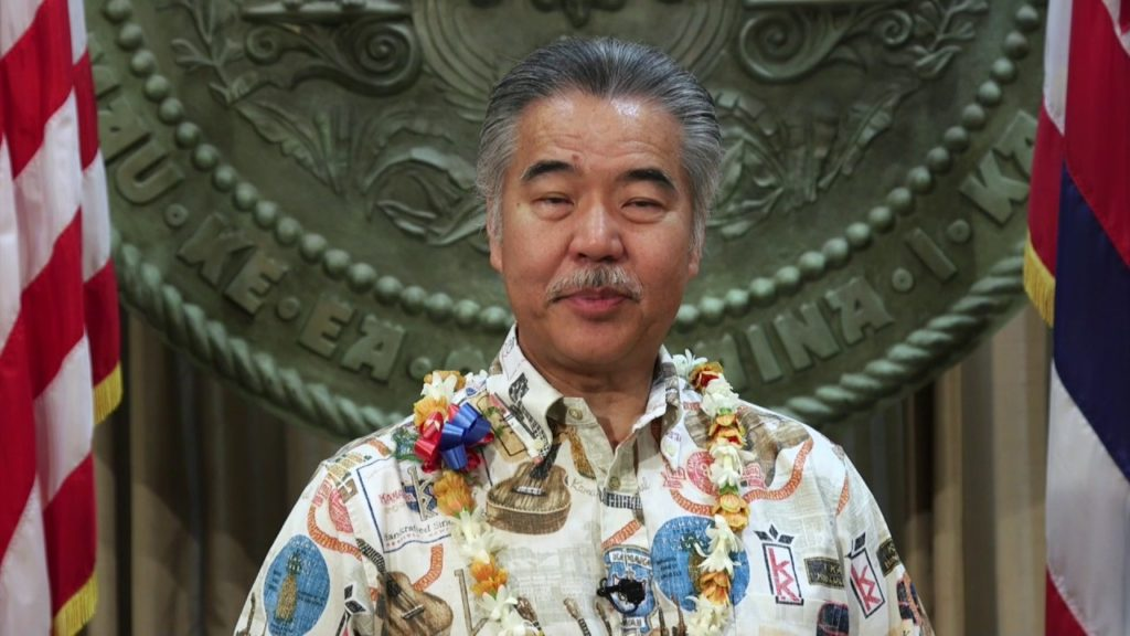 HAWAII GOVERNOR IGE ADDING INSULT TO INJURY