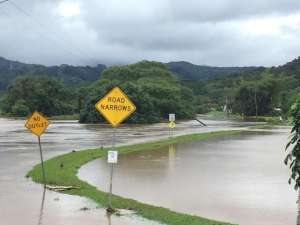 Tourists stranded on Kauai in Hawaii due to severe flooding