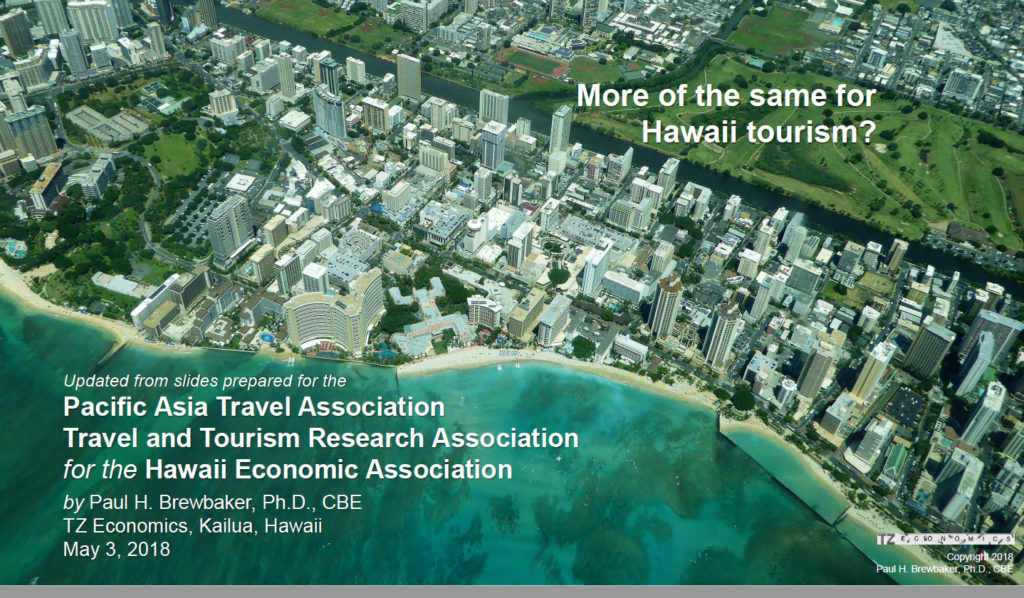 More of The Same For Hawaii Tourism?