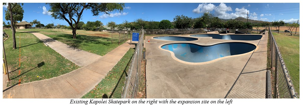 Kapolei Skatepark gets new gnarly obstacles