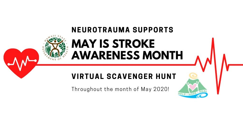When a Stroke Can Lead You on a Virtual Scavenger Hunt