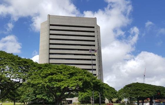 Honolulu Civic Center Parking Gets Makeover
