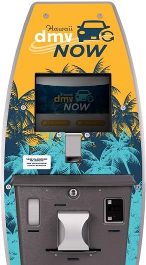 Hawaii DMV Kiosks Have New Added Fee