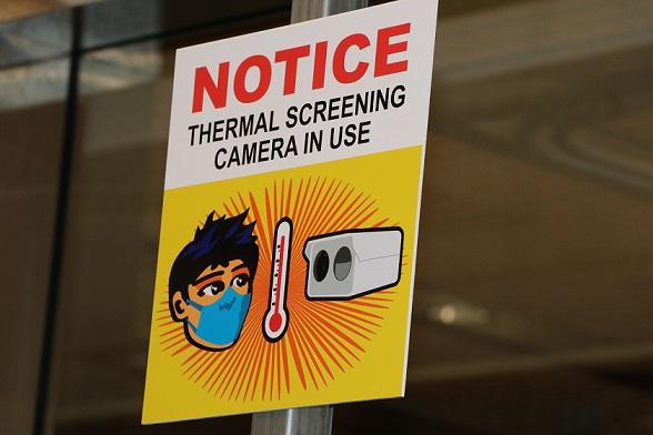 Thermal Temperature Screening in Use at Hawaii Airports